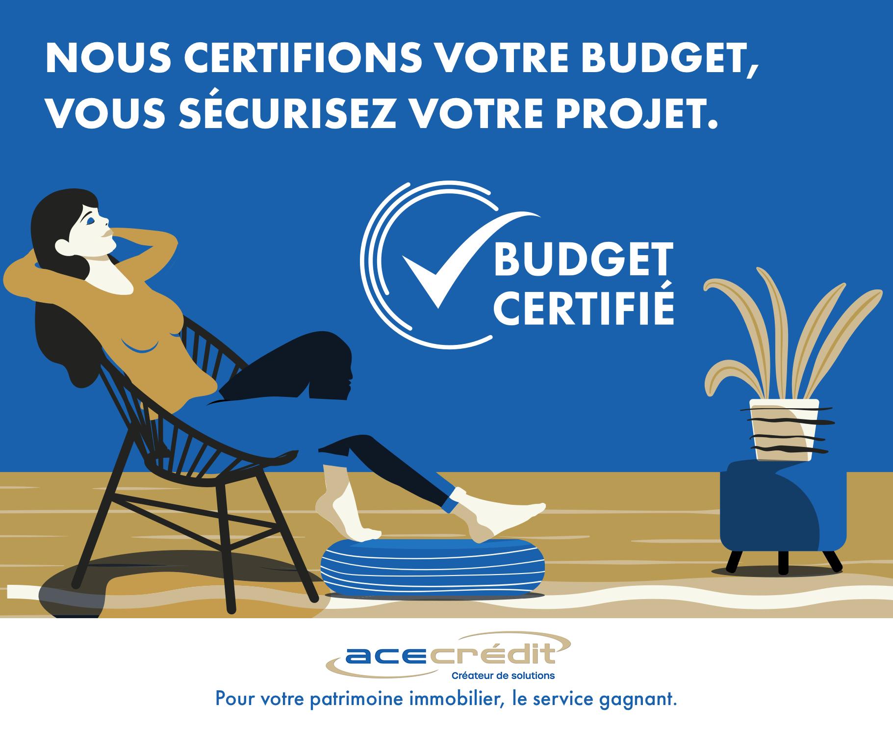 Budget certifié Ace Crédit